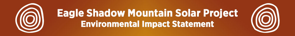 Eagle Shadow Mountain Solar Project Environmental Impact Statement Home Page